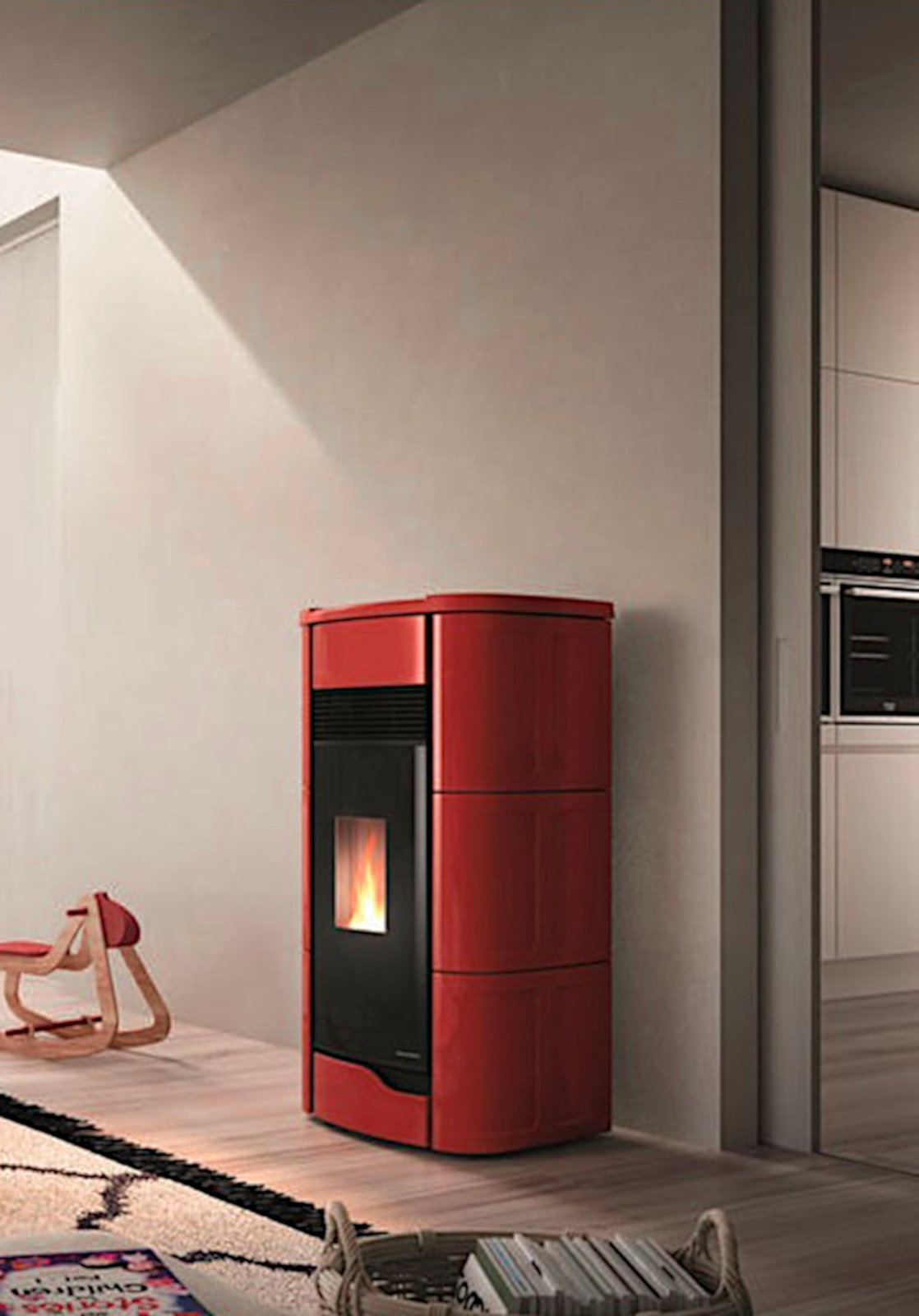 Stufa-a-pellet-Anna-9-12kW-canalizzabil